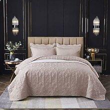 Couvre-lit de luxe en coton et Polyester avec