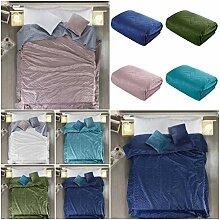 Couvre-lit double-face, protège-fauteuil, jeté