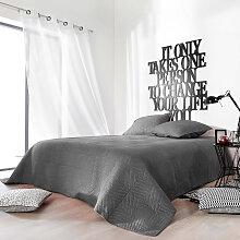 Couvre lit matelassé façon boutis en coton coton