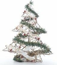 CP INTERNATIONAL Sapin décoré guirlande étoile