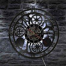 CQAZX Engrenages et Engrenages Horloge Murale