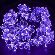CrazyFire® Guirlande lumineuse solaire à 50 LED