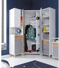 CRDIS ARMOIRE ANGLE ENFANT - GAMME TEEN