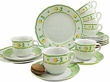 Creatable 11562 Service à Café, Porcelaine,