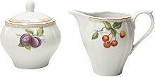 CreaTable, 17035, Série Flora Orchard, sucrier et