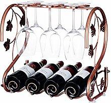 Création de vin de vin, rack de vin de vin de