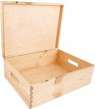 Creative Deco XL Grande Boîte de Rangement Bois |