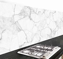 Crédence adhésive cuisine PVC 260_x_60_cm marbre