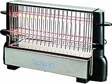 Crena 8062–Grille-pain, couleur noir
