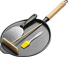 Crêpes Plaque de cuisson Grill Pan Crêpière