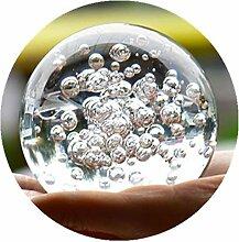 Cristal Billes de verre fontaine à eau bulle