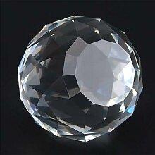 Cristal boule à facettes boules de verre verre