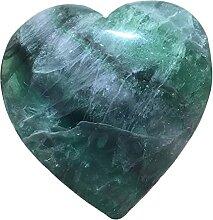 Cristal Cristaux de quartz fluorite naturel