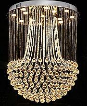 Cristal Lustre,GU10 Bâtiment Duplex Escaliers