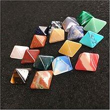 Cristal Naturel 7pcs Set Pyramid Gemstone Stone