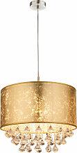 Cristal suspension textile pendule chambre