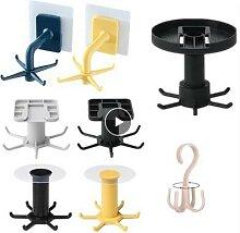 Crochet rotatif à 360 degrés accessoires de