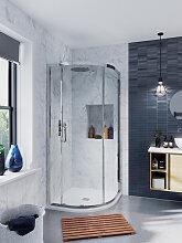 Crosswater Infinity Cabine de douche quart de rond