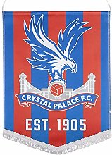 Crystal Palace Grand fanion avec blason du FC