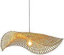 CSSYKV E27 Support De Lampe Lustre En Bambou À