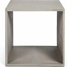 Cube de rangement Monobloc en béton