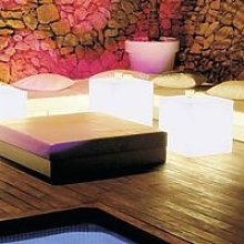 Cube lumineux 45 MOOVERE outdoor white light