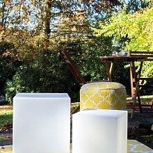 Cube lumineux cm 33 32445 8 Seasons Design