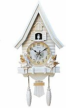 Cuckoo Horloge Antique Coucou en Bois Horloge
