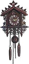 Cuckoo Horloge avec Pendule, Bois fabriqué à la