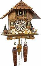 Cuckoo-Palace Horloge à Coucou Allemand - Chalet