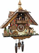 Cuckoo-Palace Pendule à Coucou Quartz-Mouvement