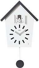 Cuco Clock Coucou BAUERNHAUS avec Horloge Murale