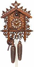 Cuco Clock Coucou Schlosser en Style Antique