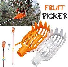Cueilleur de fruits en plastique sans pôle, outil