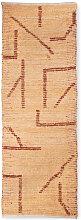 Cuho - Tapis de couloir en coton tissé à la main