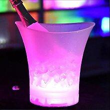 CuiGuoPing 5L Seau à Glace Seau à Champagne avec