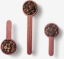 Cuillère à café en bois, cuillère à mesurer