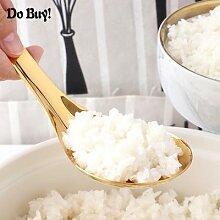 Cuillère à riz en acier inoxydable, 1 pièces,