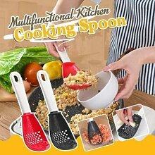 Cuillère de cuisine multifonctionnelle, broyeur,