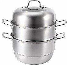 Cuiseur à soupe pot à vapeur, pot de cuisine en