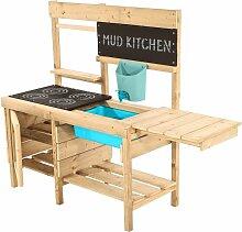Cuisine d'été en bois pour enfant Muddy Luxe