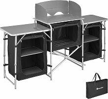 Cuisine de camping 3 compartiments - meuble de