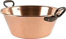 Cuisine Romefort Casserole à confiture en cuivre