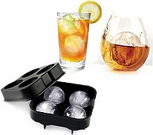 Cuisine Silicone Ice Maker Moule Whisky Boisson