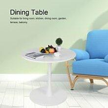 cuisine Table à manger Table basse ronde Blanc