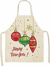 Cuisine Tablier Tablier De Noël 1 Pièce, Tablier
