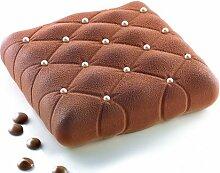 Cuisineonly - Moule silicone carré matelassé