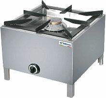 Cuisinière à gaz en acier de 11 KW cm