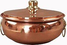 Cuisinière à induction en cuivre pour