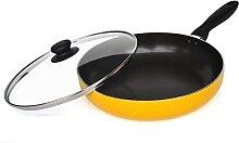 Cuisinière antiadhésif sans bâton wok (Size :